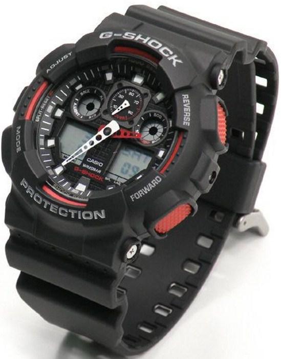 4c2c7f1a Купить Часы наручные Casio G-Shock GA-100-1A4ER - цены, кредит ...