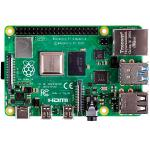 Материнская плата  с процессором Raspberry Pi 4 Model B, ARMv8 1.5GHz, 4GB, ...